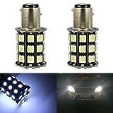 TABEN 1156BA15S 7506Base freno LED Bombilla 505036smd LED bombilla RV SUV MPV car Turn Signal lámpara de cola luz de freno de copia de seguridad luces lámparas bombillas de coche (Pack de 2)