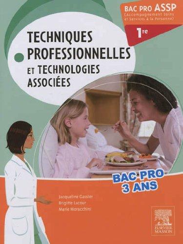 Bac Pro ASSP Techniques professionnelles et technologies associées 1re: Pilon Partiel 15/2/16