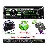 Autoradio-Stereospieler Digital Bluetooth-Auto-MP3-Player FM-Radio-Stereo-Audio-USB/SD im Dash-AUX-Richtung-Controller