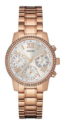 Guess Reloj analogico para Mujer de Cuarzo con Correa en Acero Inoxidable W0623L2
