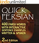 Quick Persian: 400 Common Farsi Words...
