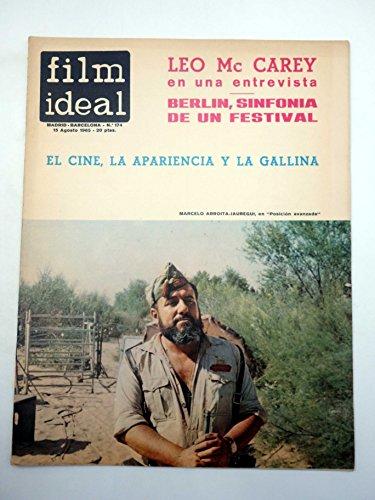 REVISTA FILM IDEAL 174. LEO MCCAREY, BERLÍN, EL CINE LA APARIENCIA Y LA GALLINA. CINE