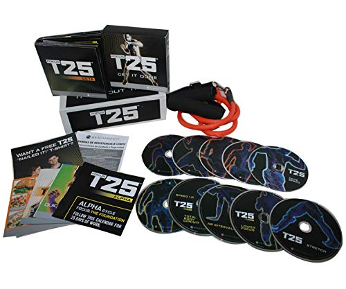 Beachbody Focus T25 Workout and Fitness DVD Programme, HIIT, High Intensity, Interval Training, Home Workout, Weight Loss, Insanity, Shaun T
