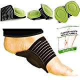 Best Arch Support Shoes - Fitbury 4Pcs Plantar Fasciitis Arch Support & Free Review