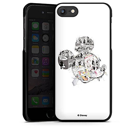 Apple iPhone SE Hülle Case Handyhülle Disney Mickey Mouse Merchandise Geschenke Hard Case schwarz