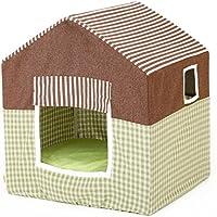 STAZSX Casa para perros extraíble y lavable Cuatro estaciones Suministros para mascotas Caseta de perro Yurt