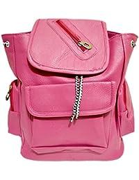 Rapidcostore Pink Sling Bag And Side Bag Shoulder Bag Backpack For Tuition College Girls And Boys RC-2274