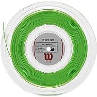 Wilson Revolve Spin 17 Reel Bobina Cordaje de Tenis, Unisex Adulto, Verde (Green), Talla Única