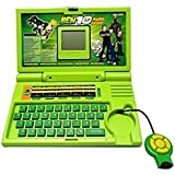 High Functional Ben 10 Educational English Learner Laptop With Mouse For Kids 20 Activities Mini Educational Laptop For Children English Learner Gaming Laptop For Kids Mini Laptop With Mouse For Kids & Children With 20 Fun Activites Enhanced Skills Of