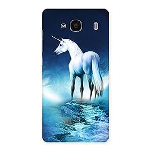 Impressive Unicorn Horse Print Back Case Cover for Redmi 2 Prime