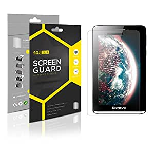 SOJITEK Lenovo IdeaTab S5000 Premium Ultra Crystal High Definition (HD) Clear Screen Protector [7-Pack] - Lifetime Replacements Warranty + Retail Packaging
