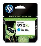 HP 920XL High Yield Cyan Original Ink Cartridge (CD972AE)