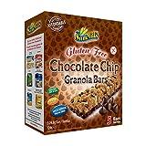 Sam Mills – Chocolate Chip Granola Bars | Glutenfreie Müsliriegel mit Schokodrops | 5 Riegel je Packung