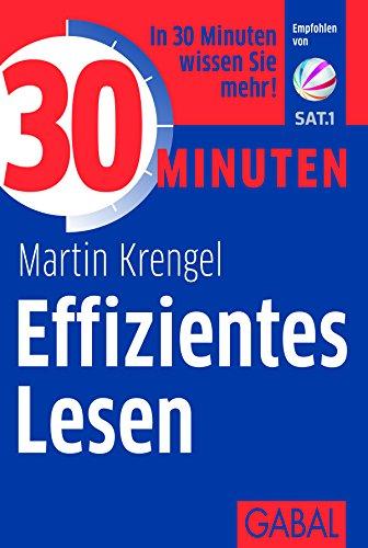 Buchseite und Rezensionen zu '30 Minuten Effizientes Lesen' von Martin Krengel