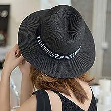 abcd212816140 Sombrero de Paja de Playa para Mujer en Panamá Sol en el mar Paja de ala