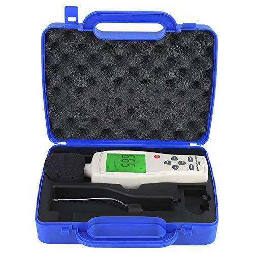 Digital Schallpegelmesser, AS824 Digitaler Tragbar Sound Level Meter, 30dBA~130dBA Mess