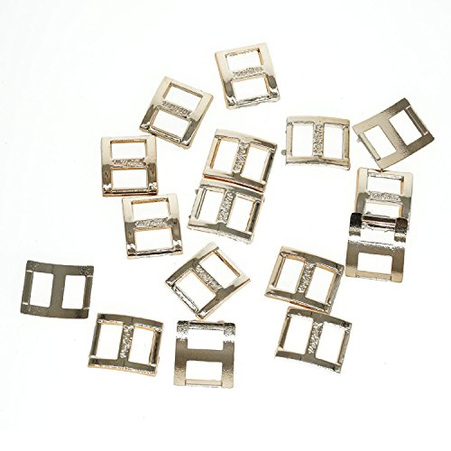 Cooplay 15 x 18 mm small Mini ring plastic buckle DIY satin shoes Slide baby doll who find DIY