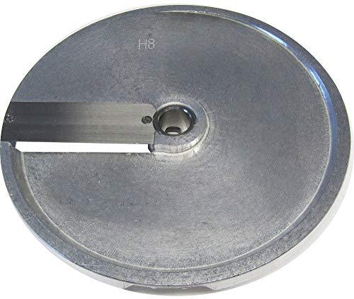 Beeketal H8 Gemüseschneiderscheibe passend für Beeketal Gemüseschneider GS750 oder GS750profi, Schneidscheibe mit 205 mm Außendurchmesser, geeignet für Scheiben 8 mm