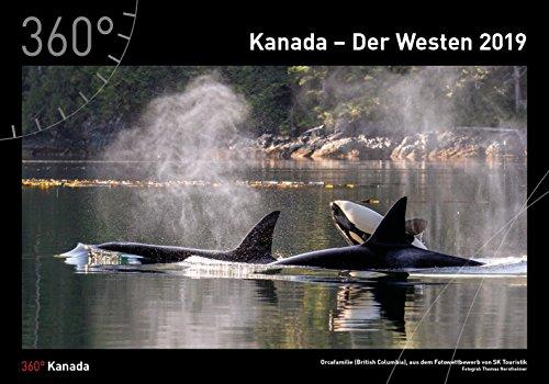 360° Kanada - Der Westen Kalender 2019