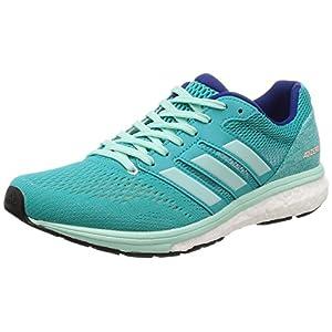 adidas Adizero Boston 7 w, Zapatillas de Running para Mujer, Azul (Hi-Res Aqua F18/Clear Mint F18/Mystery Ink F17), 39 1/3 EU
