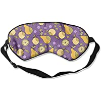 Sleep Eye Mask Pear Cartoon Fruits Lightweight Soft Blindfold Adjustable Head Strap Eyeshade Travel Eyepatch E18 preisvergleich bei billige-tabletten.eu
