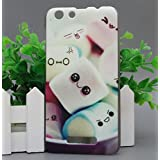 Prevoa ® 丨Cubot Note S Funda - Colorful Hard Plastic PC Funda Case para Cubot Note S 5,5 pulgadas Smartphone - 4