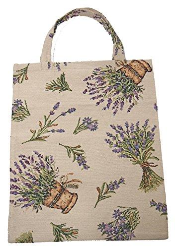 Bowatex Sac cabas sac pochette en tissu Shopper Bag poche de bistro Tapisserie royaltex Signare Bac à fleurs en Fa