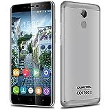 "OUKITEL U15 Pro - 4G Lte Smartphone Libre Android 6.0 (Pantalla HD 5.5"", Dual SIM, Octa Core 1.3GHz MT6753, 3Gb Ram, 32Gb, 13MP Cámara, GPS, WIFI, Huella Dactilar, OTG) (Gris)"