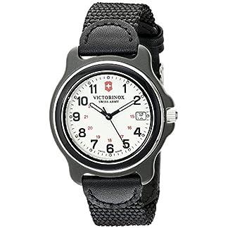 Victorinox para Hombre 249089Pantalla Original analógica Swiss Reloj de Cuarzo Negro