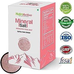 Nutroactive Himalayan Pink Salt (0 - 0.5 Mm) 450 Gm