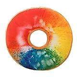 HUYURI Kissenbezug Verkauf Weichem Plüsch Kissen Gefüllte Sitzkissen Süße Donut Lebensmittel Fall Spielzeug Kissenbezug