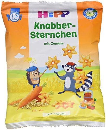 Hipp Knabber Sternchen mit Gemüse, 30 g