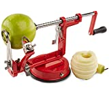 Andrew James Apple Peeler, Corer And Slicer In Red