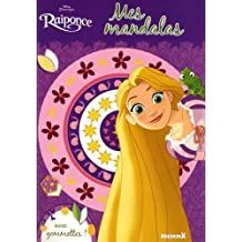 Disney Raiponce - Mes mandalas avec gommettes