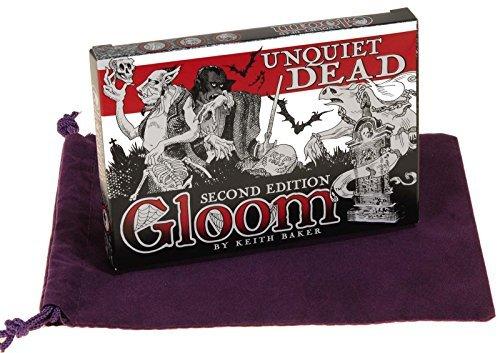 unquiet-dead-2nd-edition-expansion-for-gloom-card-game-bonus-purple-velveteen-drawstring-storage-pou