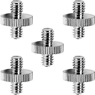 Standard 1/ 4 Zoll Male bis 1/4 Zoll Male Schraube Gewindeschraube Adapter Stativ Schraube Konverter (5 Pack)