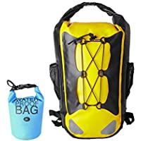 TIANMEI Dry Backpack Waterproof Roll Top Bag for Kayaking Rafting Boating  Swimming Camping Hiking Fishing Floating 8e49b6a0c7102
