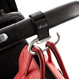 Modern Stroller Hook - Universal Fit for Walkers, Wheel Chairs, Buggy's & Prams