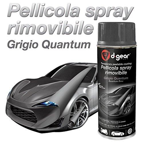 Vernice-pellicola spray Pellicola spray rimuovibile grigio quantum