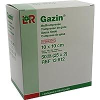GAZIN Mullkomp.10x10 cm steril 8fach 50 St Kompressen preisvergleich bei billige-tabletten.eu