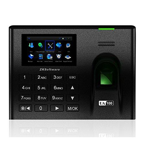 Ciecoo 3200 Fingerprints100000 Grabación UA100 Terminal de asistencia de tiempo de huellas dactilares con Zk SoftwareTCP IP RS232 485 USB