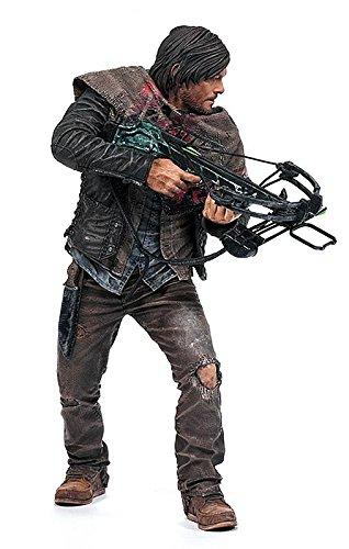 Unbekannt The Walking Dead Actionfigur Daryl Dixon, detailreiche Sammelfigur mit Zubehör/ca. 25cm Groß/Survivor Edition
