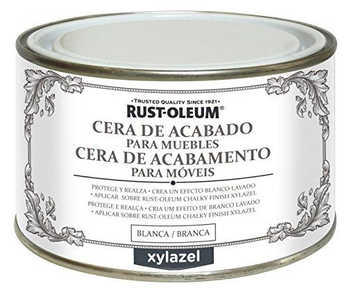 CERA ACABADO PARA MUEBLES XYLAZEL BLANCO 400 ML