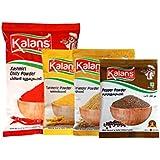 [Sponsored]Kalans Red Chili, Coriander, Kashmiri Chili ,Organic Turmeric , Black Pepper Powder Masala Combo Pack Of 5 Spices...