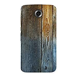 Special Wall Bar Wood Back Case Cover for Nexsus 6
