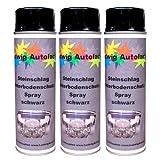 Steinschlagschutz Unterbodenschutz 3 x 500 ml Spray Schwarz