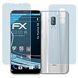 atFolix Schutzfolie kompatibel mit Homtom S8 Folie, ultraklare FX Bildschirmschutzfolie (3er Set)