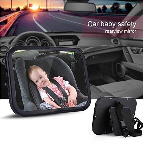 Preisvergleich Produktbild Rücksitzspiegel für Babys PLUIESOLEIl Sicherheitsspiegel Babyspiegel für Kindersitz & Babyschale