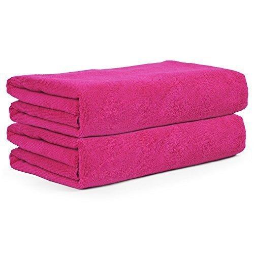 belmalia-2-mikrofaser-hand-tcher-xxl-sehr-saugfhig-und-schnell-trocknend-180-x-75-cm-pink