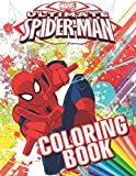 MARVEL Ultimate SPIDER-MAN Coloring Book: 33 Exclusive Illustrations